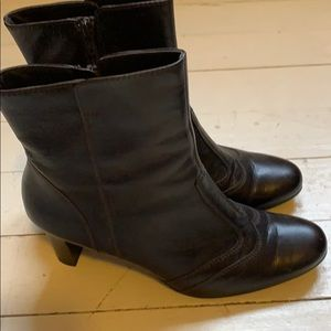 Paul Green brown booties size 6 (about 8.5 US)